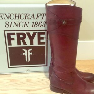 Frye Molly button boots. Bordeaux color size 6.5